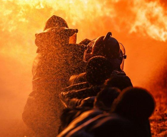 Generosidad bomberos