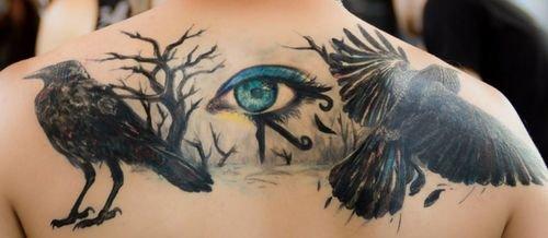tatuaje ojo de ra