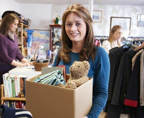 generosidad donar objetos
