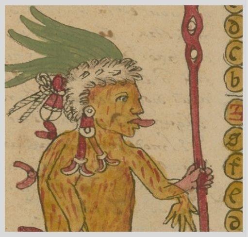 detalle del calendario azteca