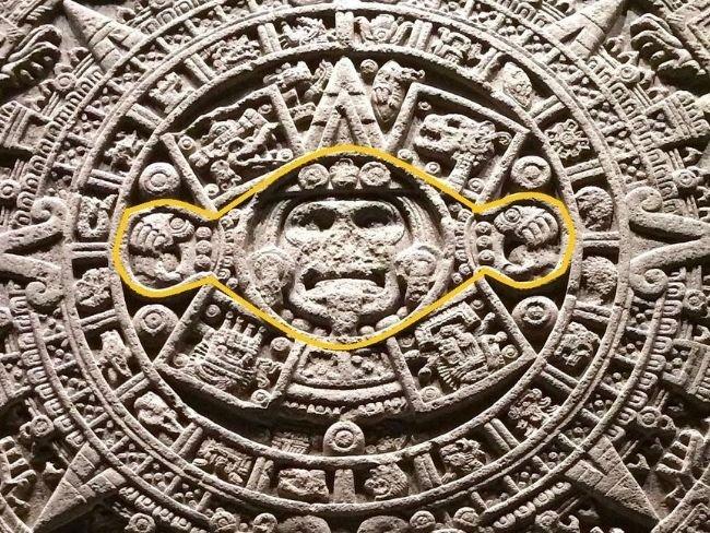 Piedra del Sol, primer círculo