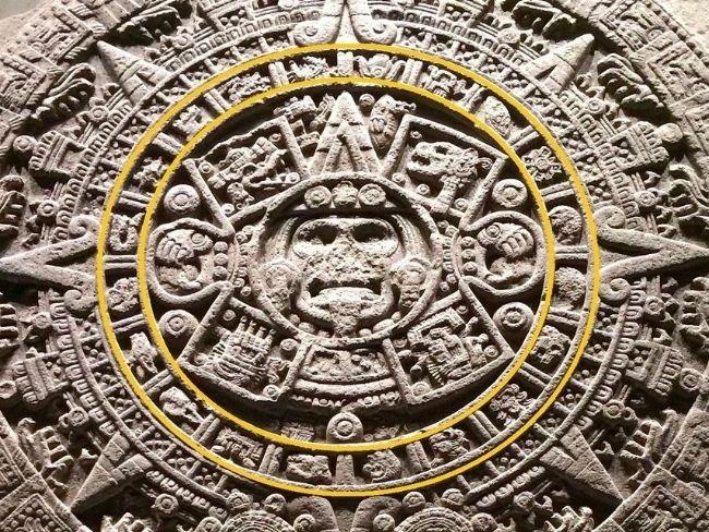 Piedra del Sol, tercer círculo, los días del mes