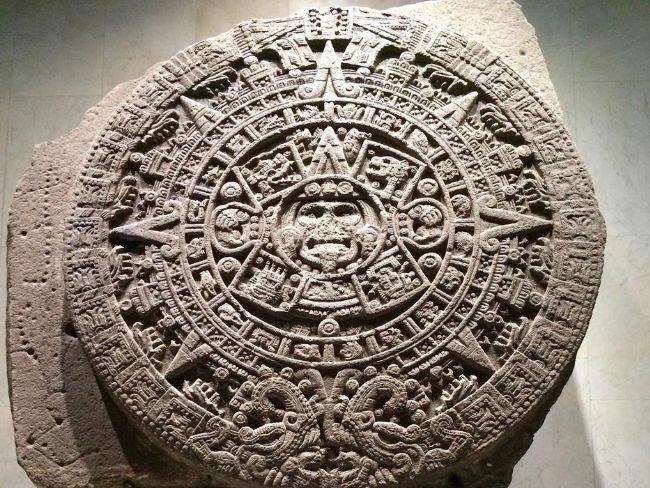 Piedra del Sol, monolito original