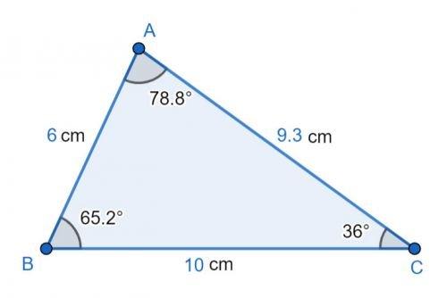 triangulo escaleno
