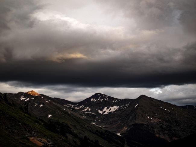 Tipos de nubes, altoestratos