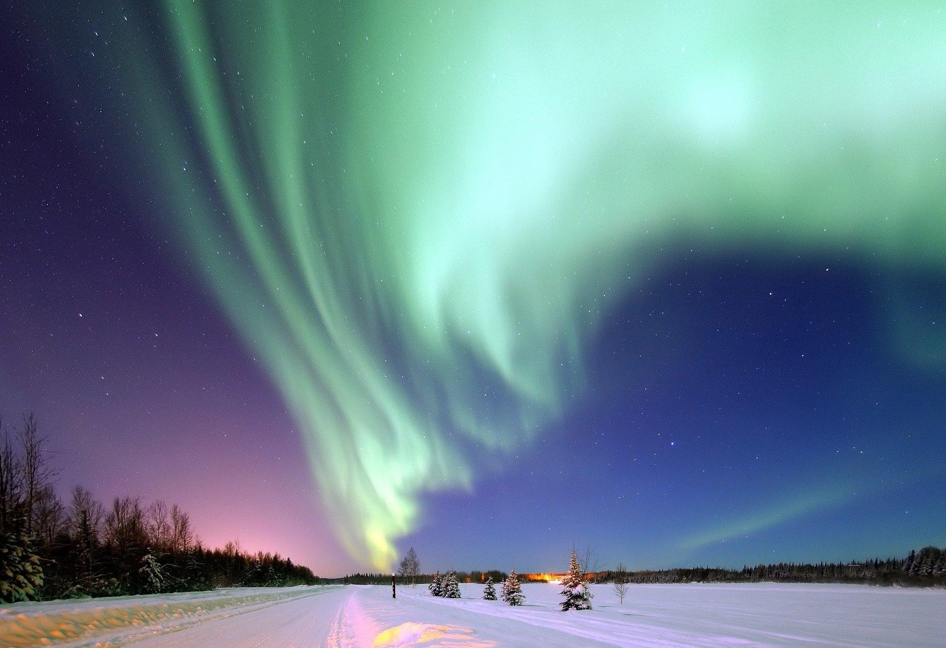 Fenómenosnaturales. Aurora polar