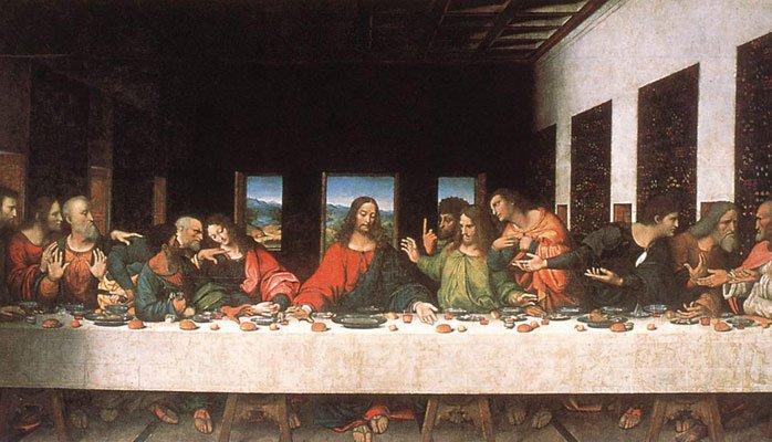 Resultado de imagen para santa cena leonardo da vinci