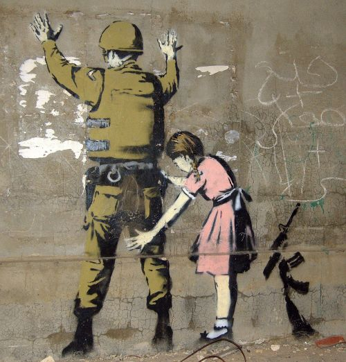 Banksy Stop and Search