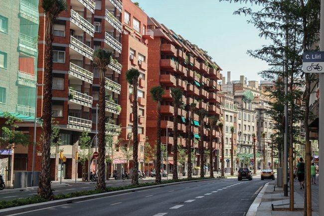 Gentrificación, Barcelona, España