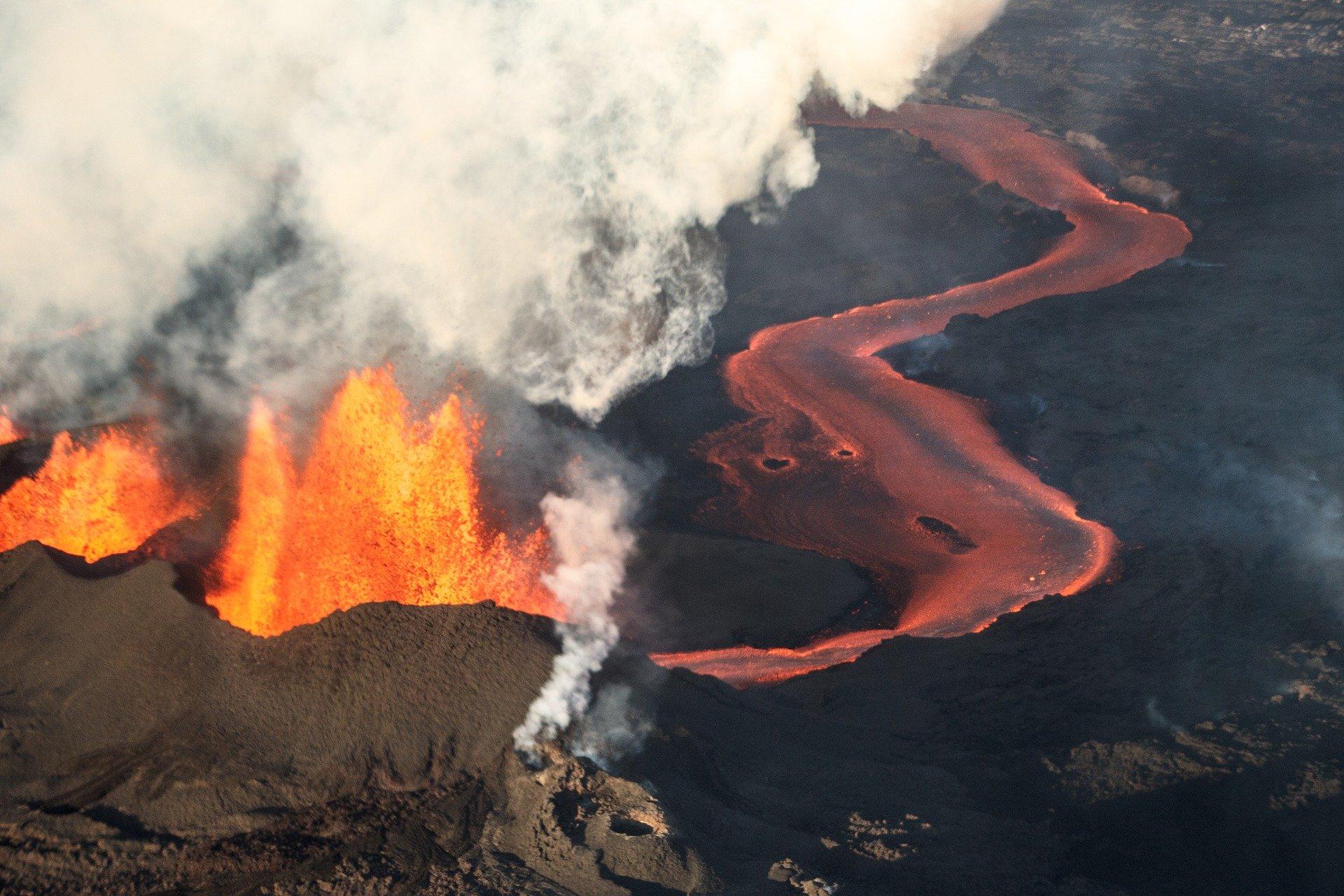 Fenómenosnaturales. Erupciones volcánicas