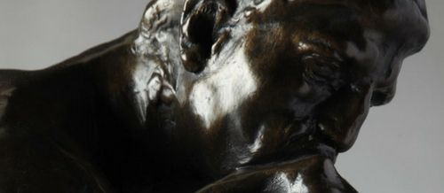 el pensador escultura