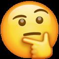 Cara de pensamiento-emoji