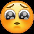 Cara e súplica-emoji