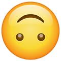 Carita al revés-emoji