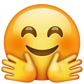 Carita con manos-emojis