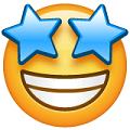 Carita con ojos de estrella-emoji