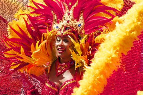 mujer carnaval