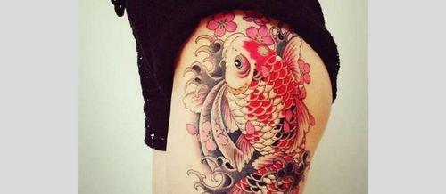 tatuaje carpa