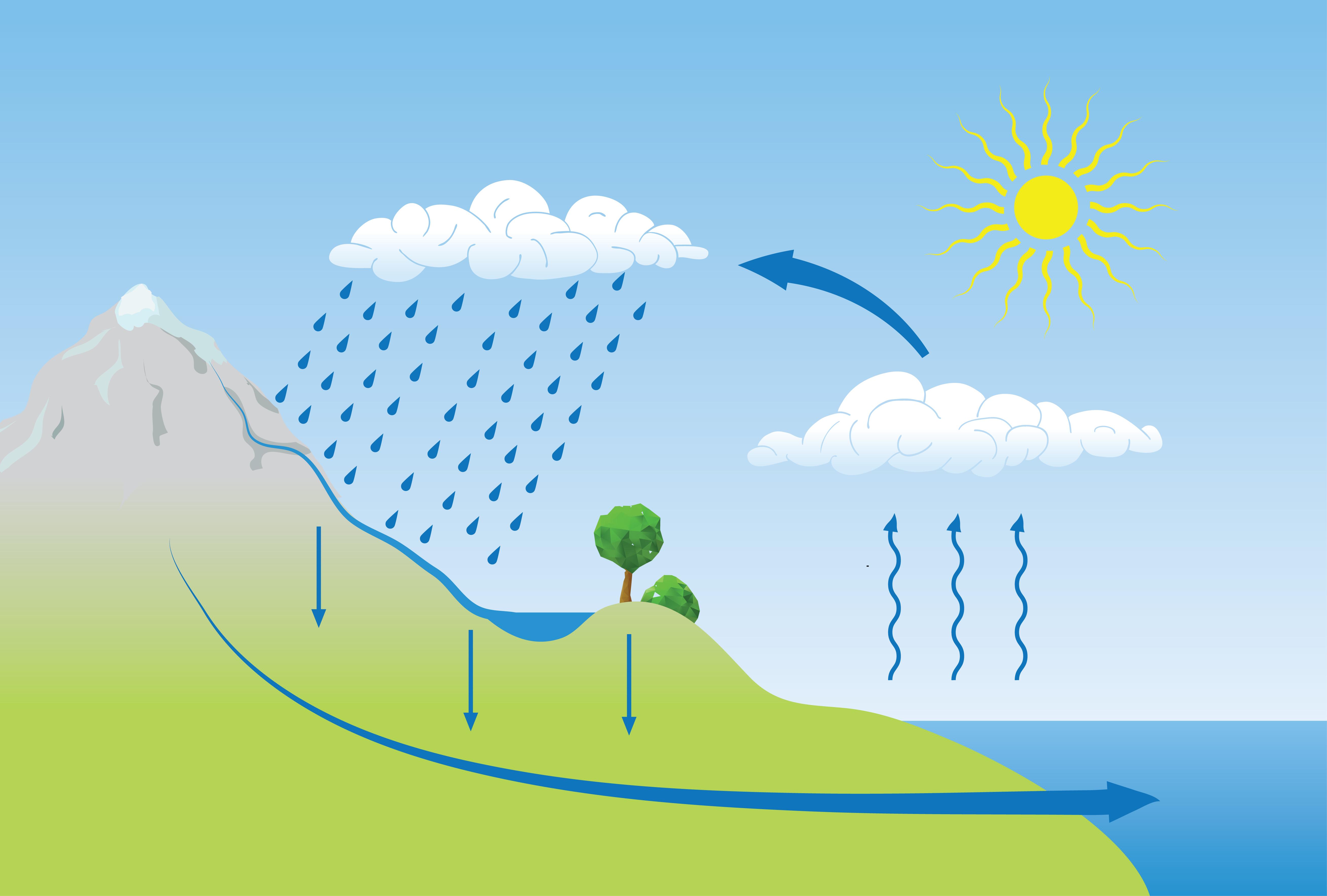 Significado del Ciclo del agua (con imágenes) - Qué es, Concepto y ...