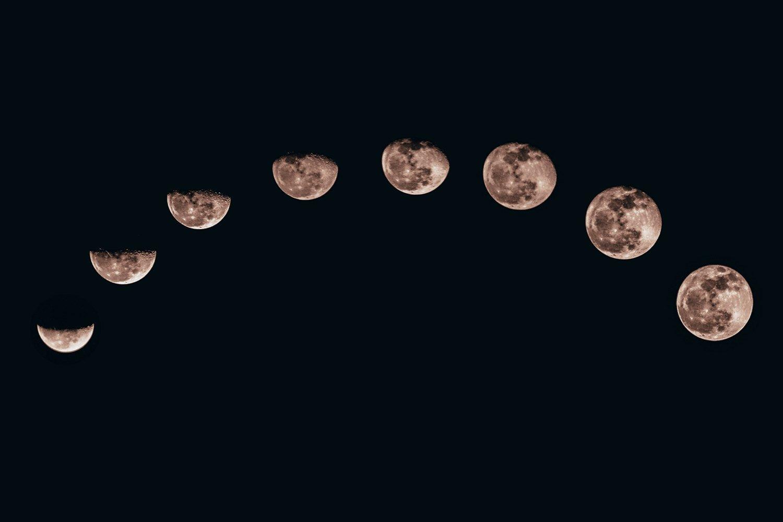 Significado de Fases de la Luna (Qué es, Concepto y Definición) - Significados