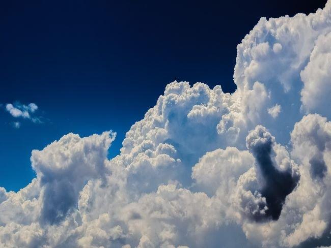 Tipos de nubes, cúmulos