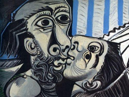 El beso-Picasso