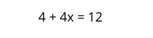 Ecuación de primer grado con paréntesis