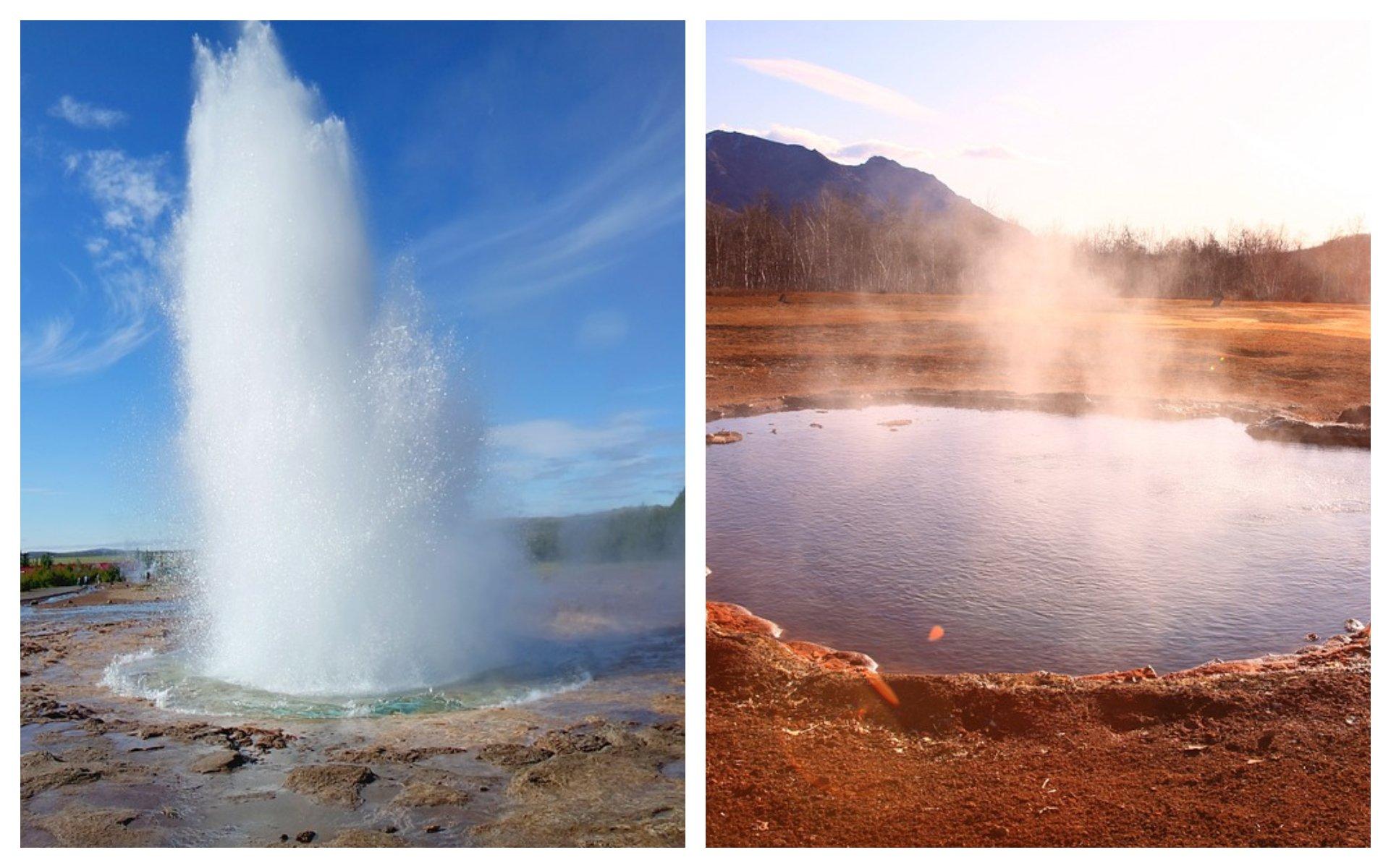 Ejemplos de energía geotérmica