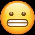 Emoji-carita haciendo muecas