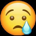 Emoji-carita llorando
