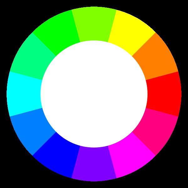 Círculo cromático, RGB