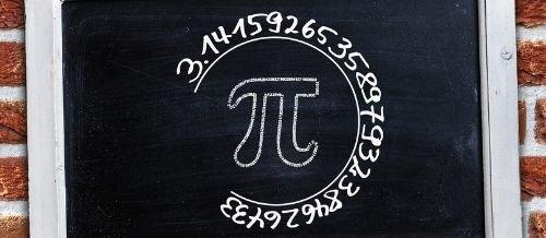 símbolo de pi
