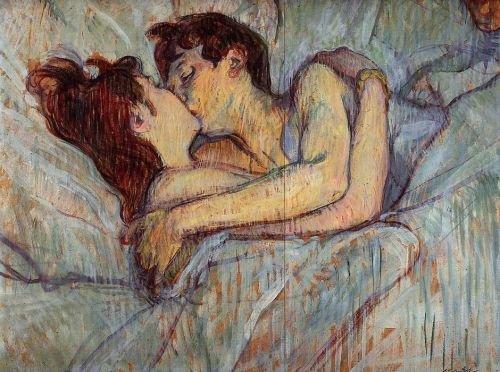 En la cama-Toulouse Lautrec