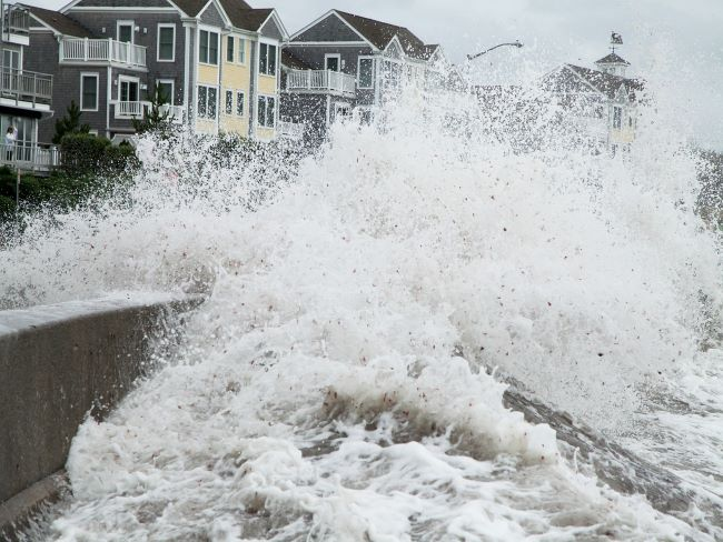 Inundaciones, inundación costera