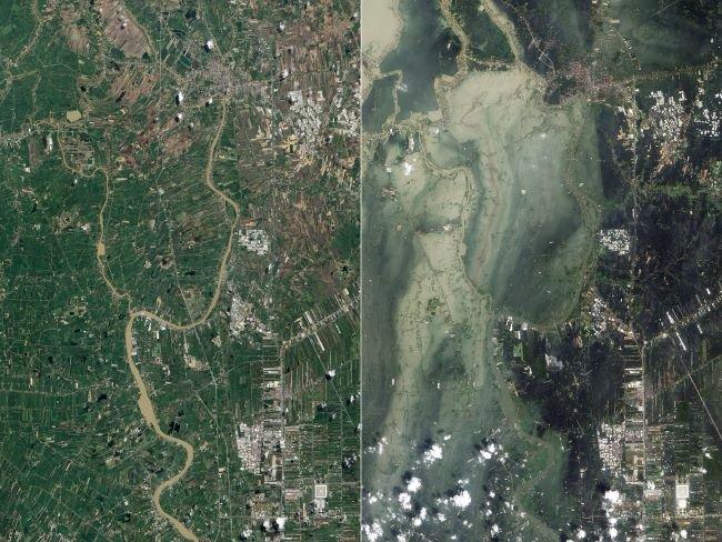 Inundaciones, Tailandia