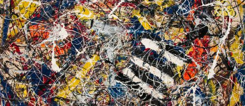 number 17a Jackson Pollock