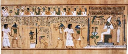El juicio de Osiris