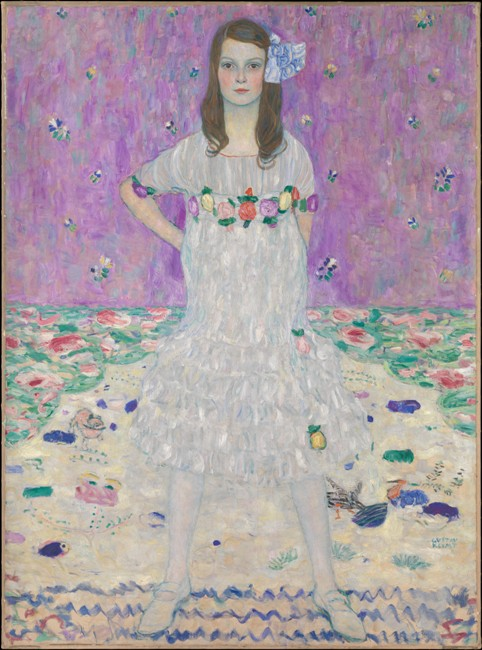 Mäda Primavesi de Gustav-Klimt