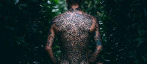 tatuaje mandalas