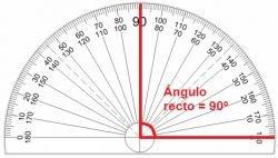 431ee86cb6 En geometría, el ángulo recto es importante, ya que, es fácil determinar  cuando se encuentran dos rectas perpendiculares, por ejemplo: