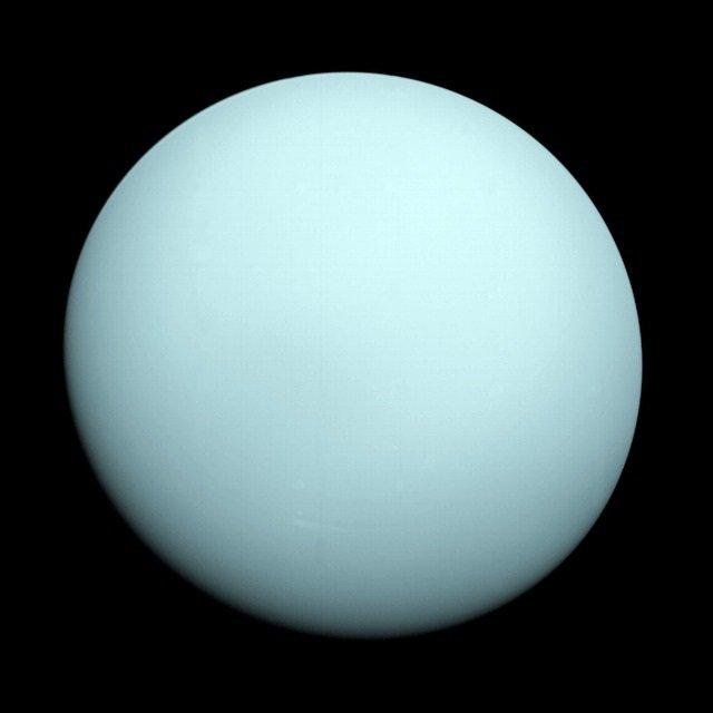 Planetas del sistema solar, urano