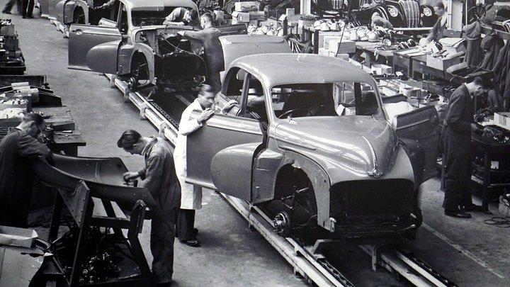 Segunda revolución industrial.Producción en serie