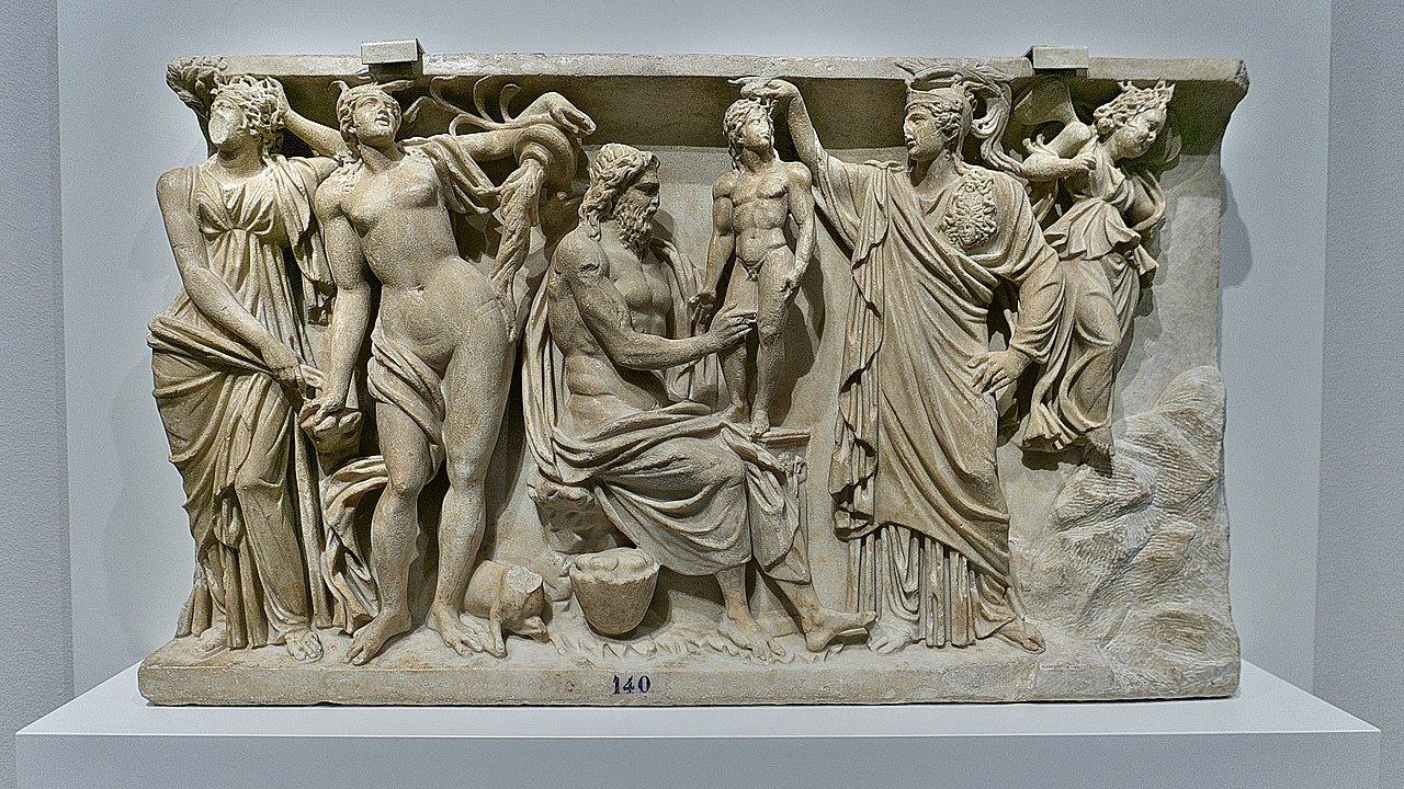 Prometeo y Atenea,Mitología griega, Museo de El Prado