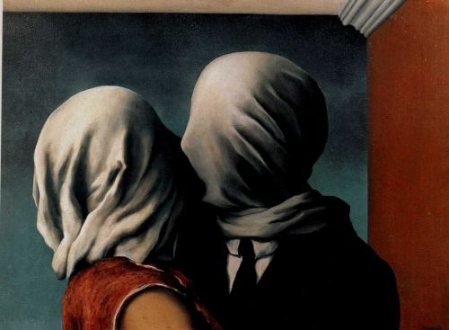 Los amantes-Magritte