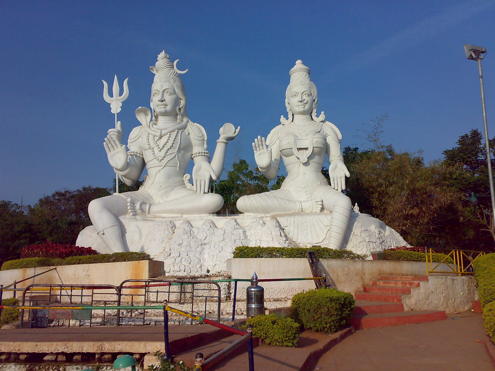 Shiva y Parvati