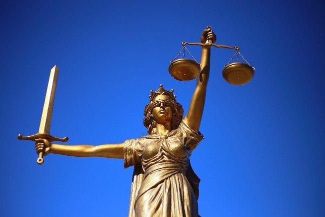 Justicia, símbolo de la justicia