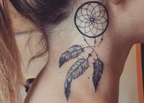 Significado de tatuajes, tatuaje atrapasueños