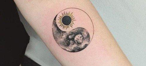 Significado de tatuajes, tatuaje yin yang