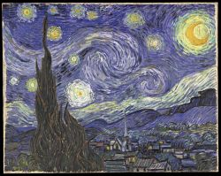 La noche estrellada Vincent van Gogh